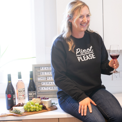 'Pinot Please' Crewneck
